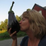 Sharon-with-Eggplant